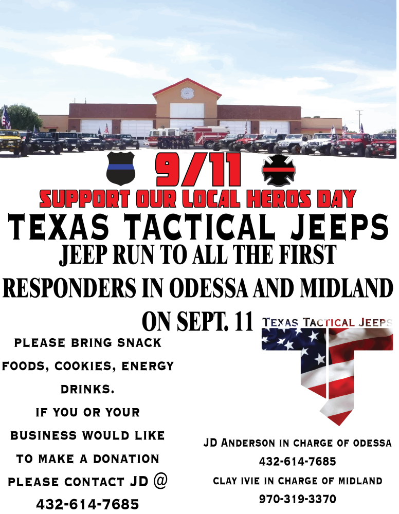 9/11 Tribute Run for local OFD
